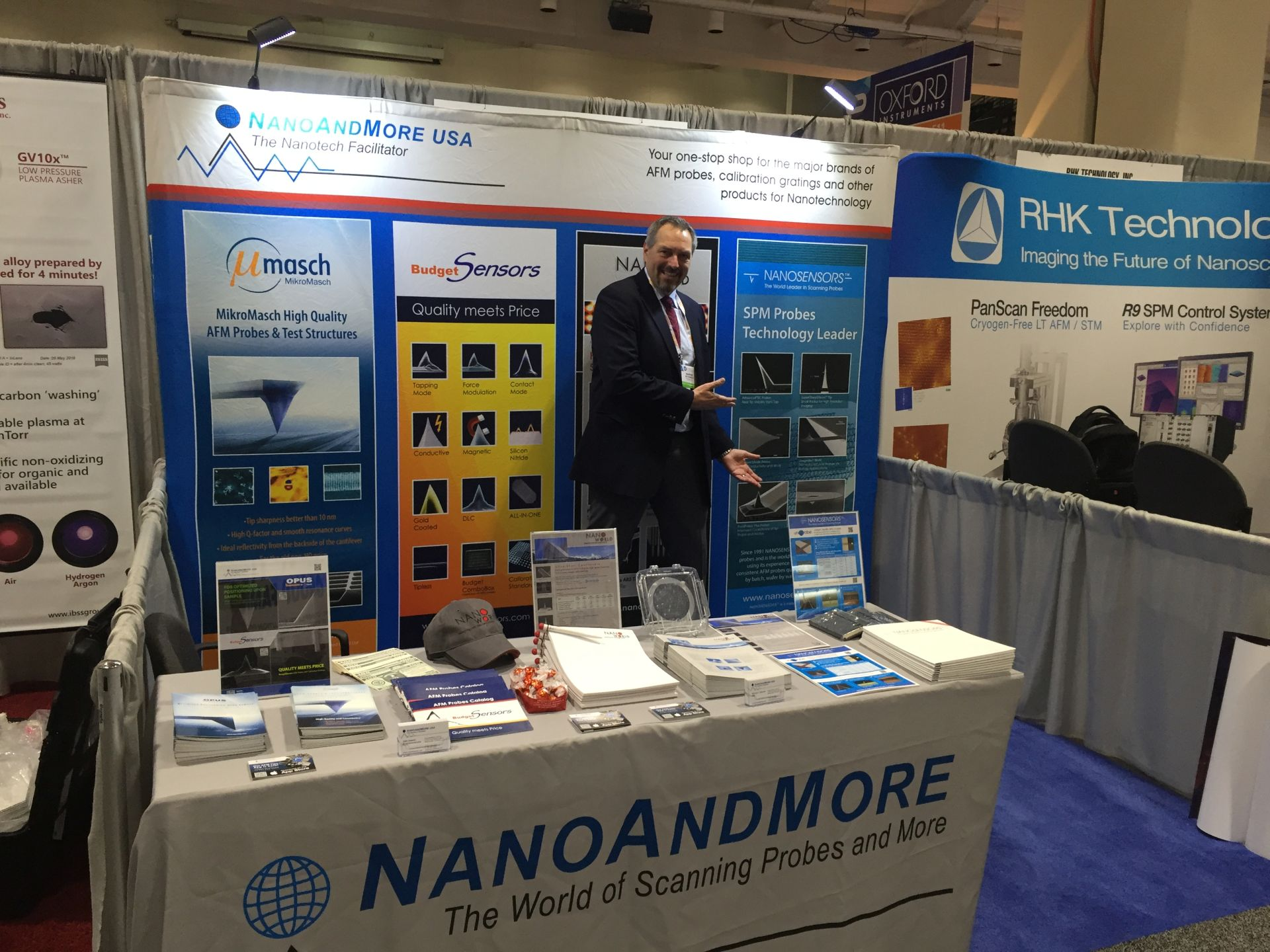 Meet NANOSENSORS at 2016 MRS Fall booth #610 #f16mrs