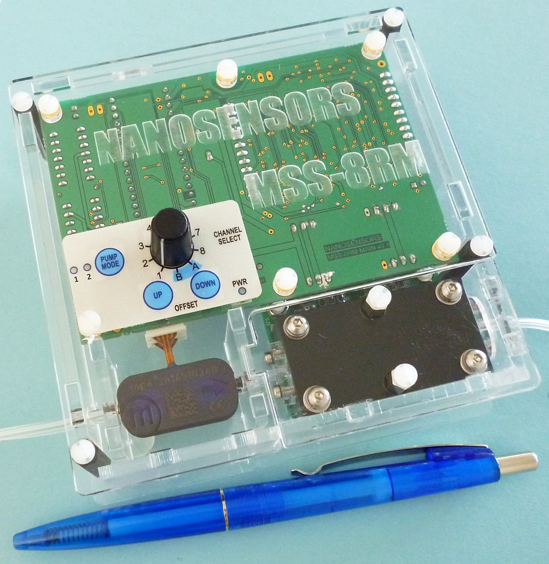 NANOSENSORS MSS-8RM - 8 Channel Readout Module for MSS Membrane-type Surface-stress Sensor