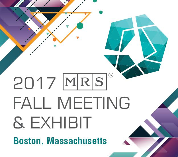 Visit the NanoAndMore booth 610 at the 2017 MRS FAll Exhibit