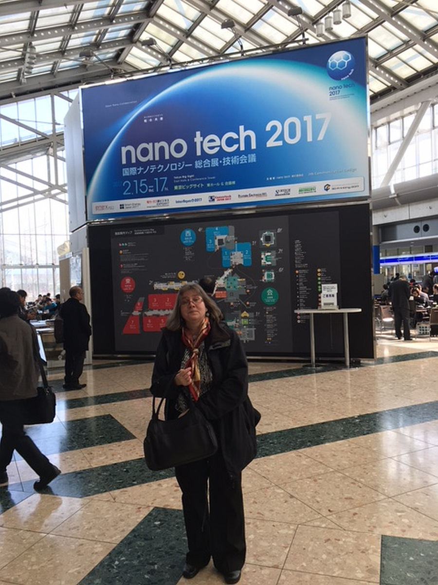 NANOSENSORS™ at the nano tech 2017 international nanotechnology conference and exhibition, Big Sight Tokyo, Japan