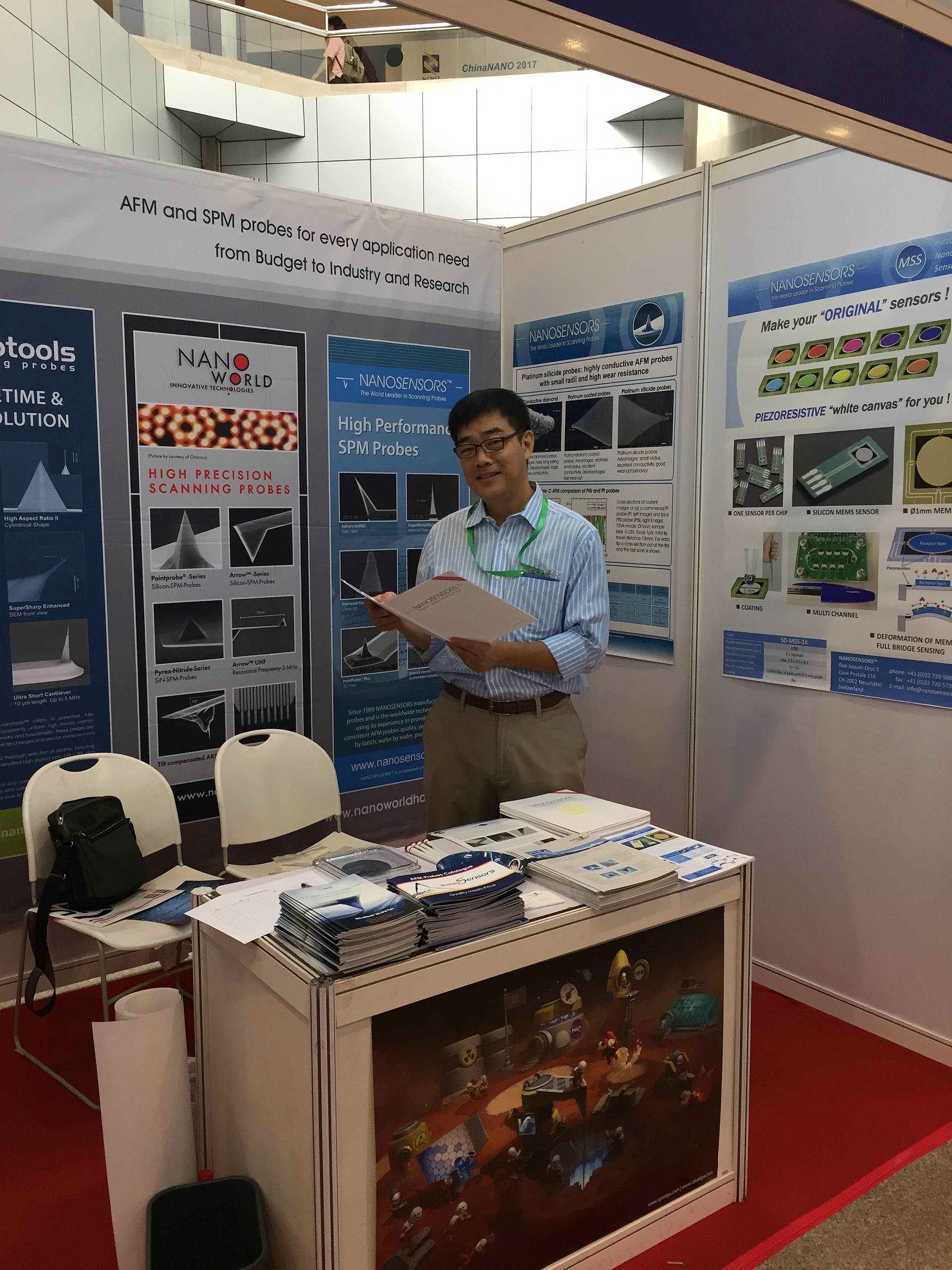 Meet NANOSENSORS at booth 503 of China Nano 2017 Beijing 29