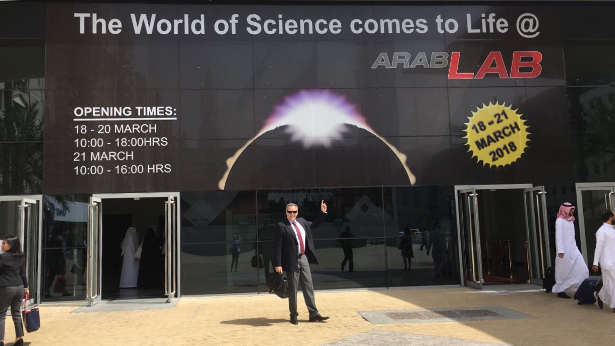 NANOSENSORS AFM probes at Arablab 2018