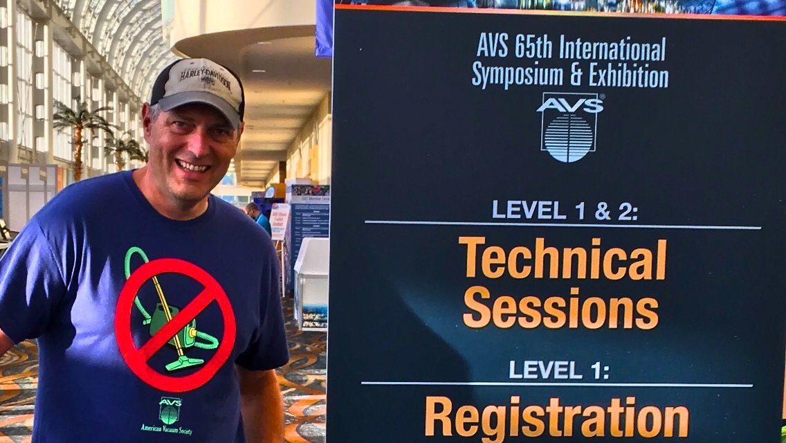 Manfred Detterbeck at AVS 65th International Symposium and Exhibition.